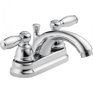 Peerless Faucets Centerset Two Handle Bathroom Faucet