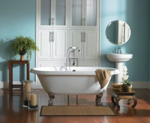 clawfoot bathtub 300x246 Vintage Bath Tub for a Classic Look
