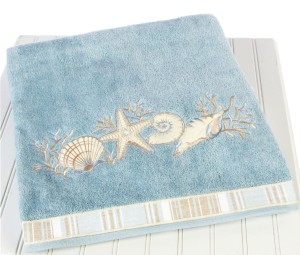 Sea Shells Towels