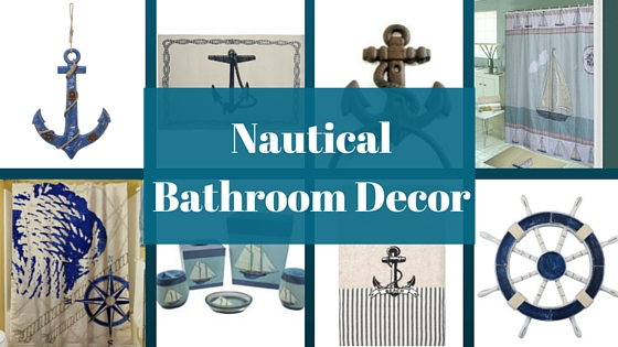 Bon Nautical Bathroom Decor