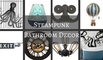 Steampunk Bathroom Decor